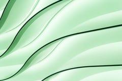 绿色灯光管制线 向量例证