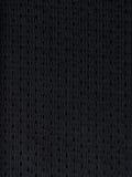 黑色炫耀球衣 免版税库存照片