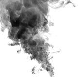 黑色烟 库存图片