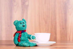 绿色熊 免版税图库摄影