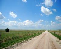 绿色牧场地 免版税库存照片