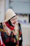 黑色狂欢节装饰屏蔽面具威尼斯 库存照片