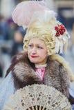 黑色狂欢节装饰屏蔽面具威尼斯 免版税库存照片