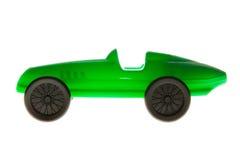 绿色玩具汽车 图库摄影