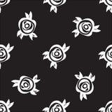黑色玫瑰 图库摄影