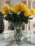 黄色玫瑰 免版税库存图片