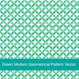 绿色现代几何样式传染媒介 免版税库存图片