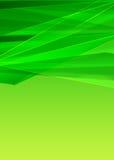 绿色现代背景设计 免版税库存图片
