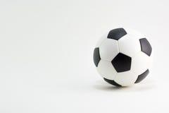 水色球取火镜足球 图库摄影