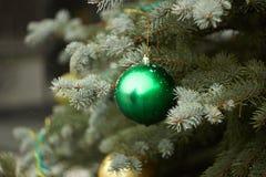 绿色球 免版税库存图片