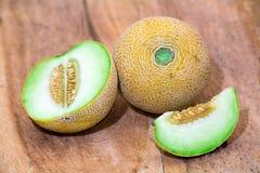绿色瓜 免版税库存图片