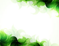 绿色瓣背景 免版税库存照片