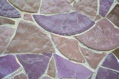 紫色瓦片纹理 免版税图库摄影