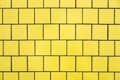 黄色瓦片 库存图片