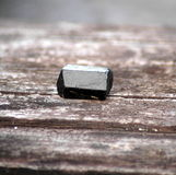 黑色电气石 免版税库存照片