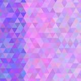 色的三角万花筒传染媒介纹理  免版税图库摄影