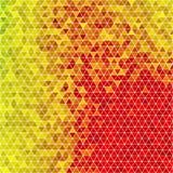 色的三角马赛克背景 库存例证