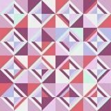 色的三角 无缝的模式 库存照片