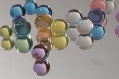 色的丙烯酸酯的球 图库摄影