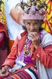 色的伊哥洛特人banaue菲律宾 库存图片