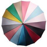 色的伞 免版税图库摄影