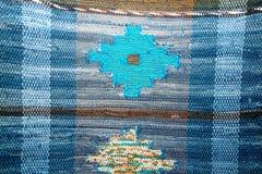 色的俄国地毯 库存照片