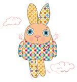 色的兔子 库存图片