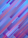 色的几何形状抽象3d翻译  计算机生成的几何样式 向量例证