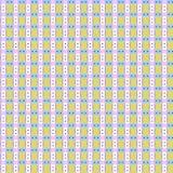 色的几何无缝的样式 免版税图库摄影