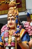 色的印第安雕象 库存照片