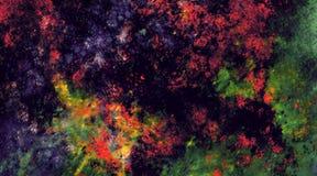 色的噪声难看的东西石头珍贵的绘画墙壁摘要背景 免版税库存照片
