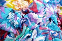 色的围巾 库存图片
