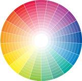 色的圈子 免版税库存照片