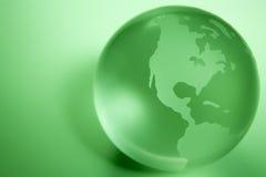 色的地球绿色 免版税图库摄影