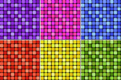 色的堆 库存图片