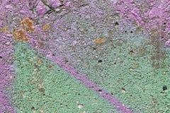 色的墙壁纹理难看的东西 库存图片