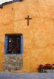 色的墙壁 免版税库存照片