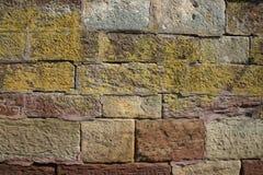 色的墙壁 免版税图库摄影