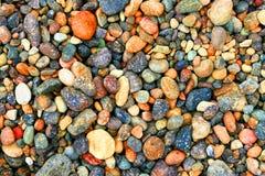 色的多岩石 库存照片