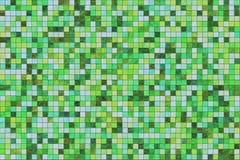色的多瓦片 库存例证