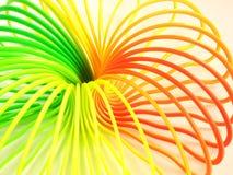 色的多螺旋 库存照片