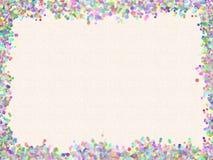 色的奶油色纸张构造了 免版税库存照片