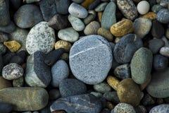 色的小卵石 免版税库存图片