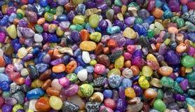 色的小卵石 免版税库存照片