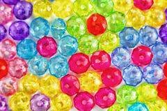 色的小珠背景,花背景由色的小珠做成 库存照片