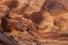 色的峡谷 库存照片