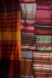 色的布料 免版税图库摄影
