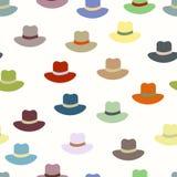 色的帽子 免版税图库摄影