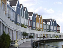 色的房子 免版税图库摄影