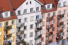 色的房子 图库摄影